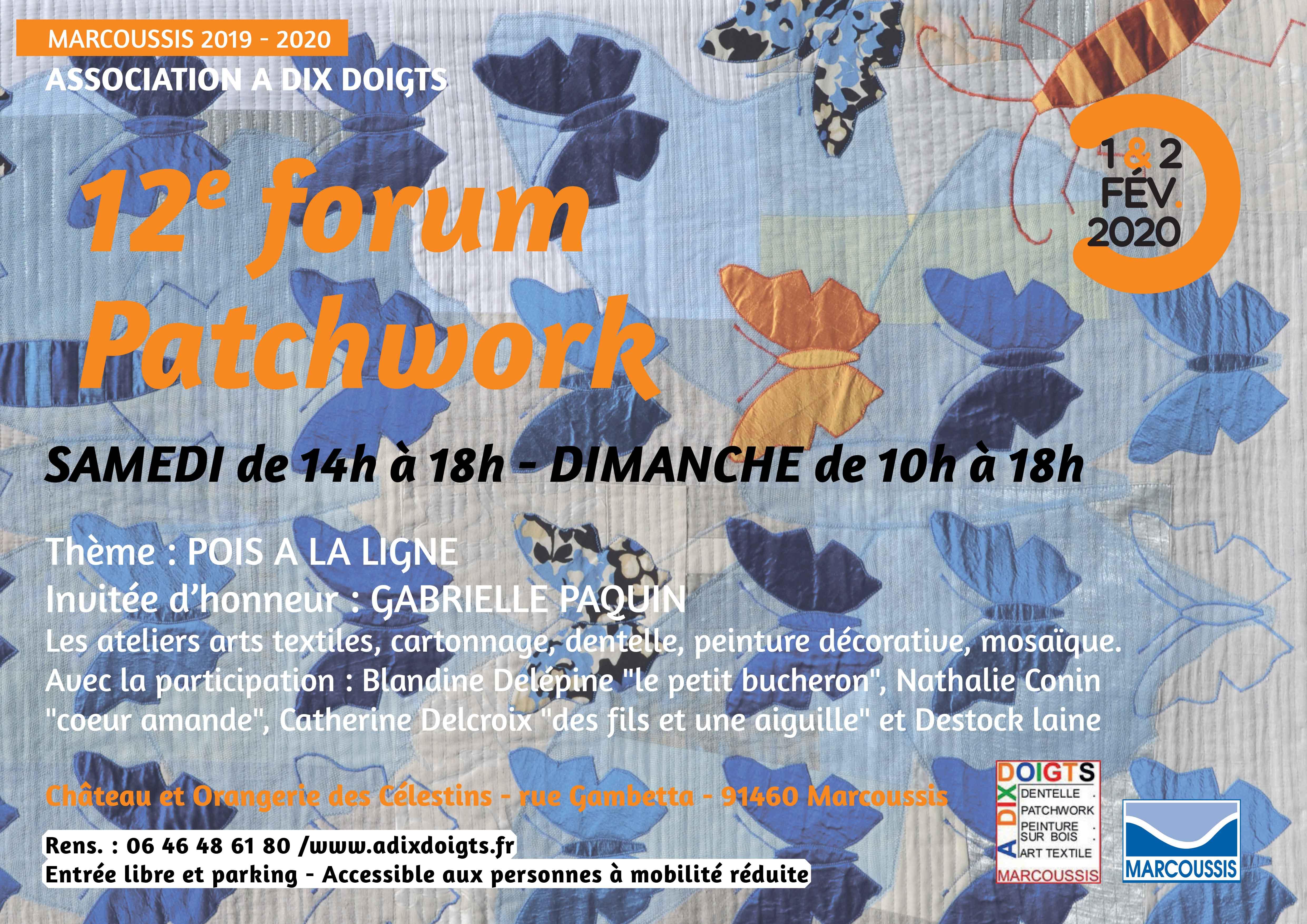 Forum du Patchwork à Marcoussis